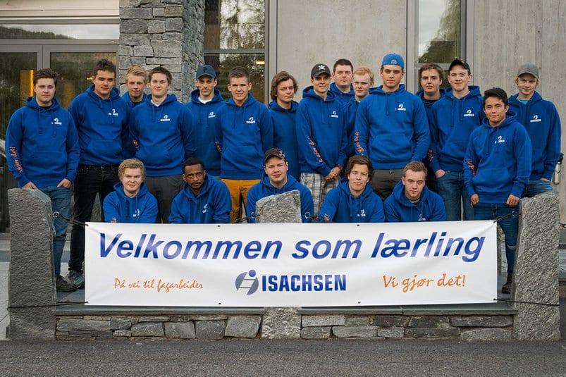 Nye lærlinger i Isachsen