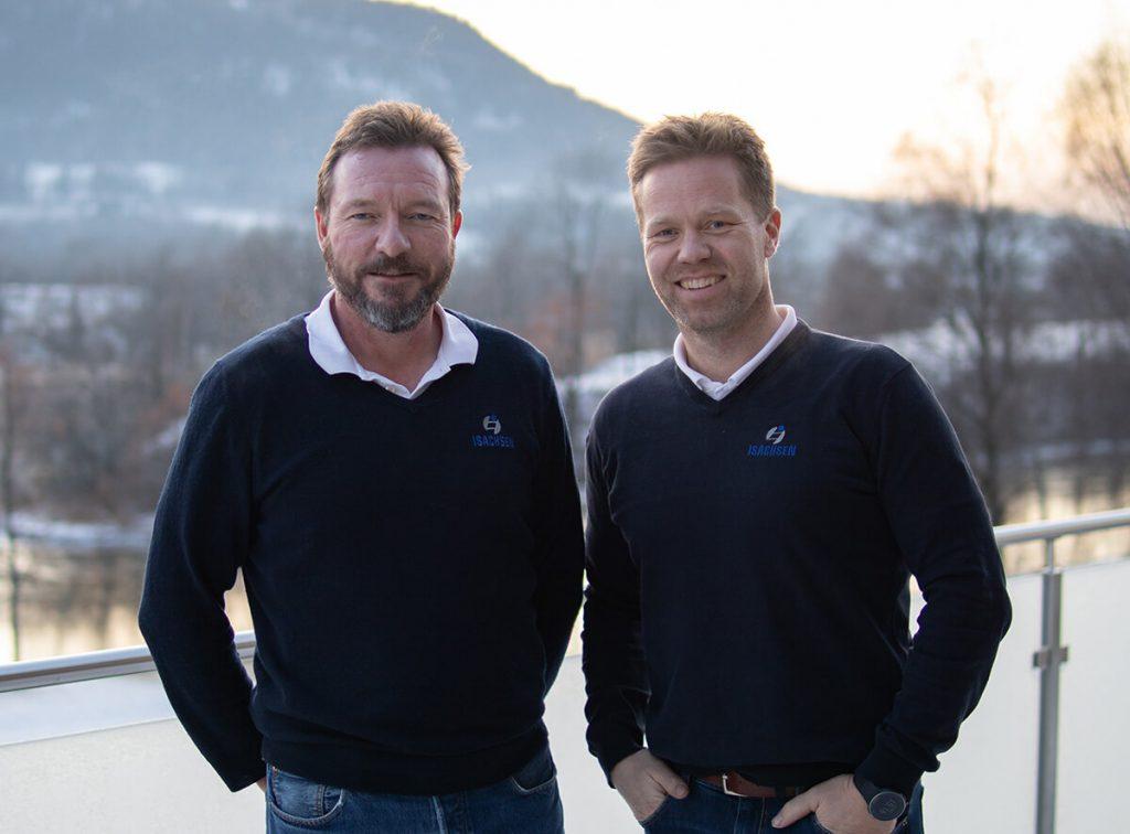 Nils Smetbak og Anders Høiback