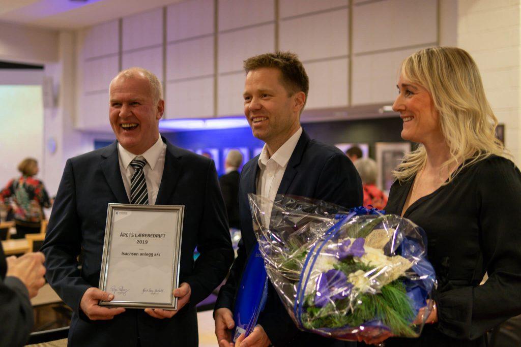 Vidar Kjenås, Anders Høiback og Line Merete Ristvedt